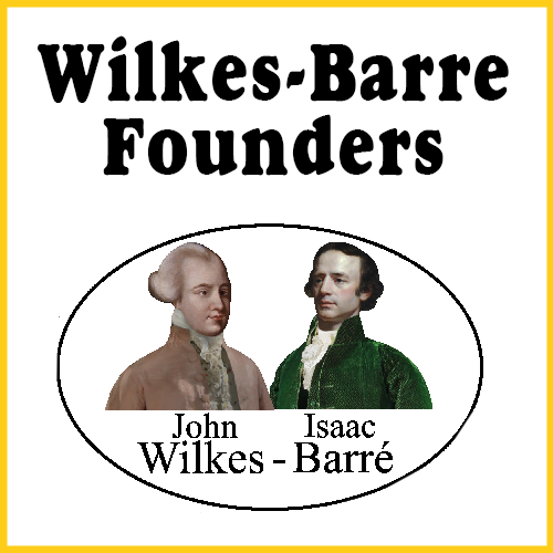 Wilkes-Barre Founders Bumper Sticker