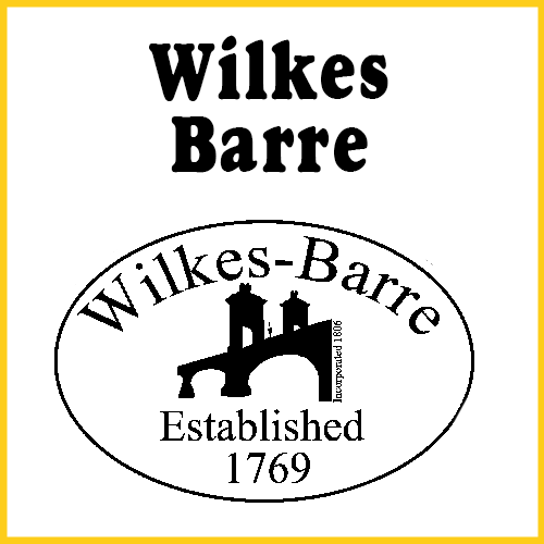 Wilkes-Barre Established 1769 Bumper Sticker