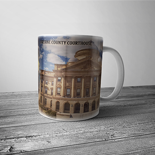 Luzerne County Courthouse Mug