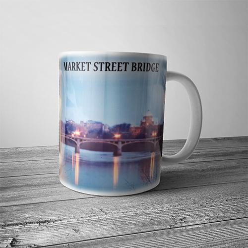 Market Street Bridge Mug