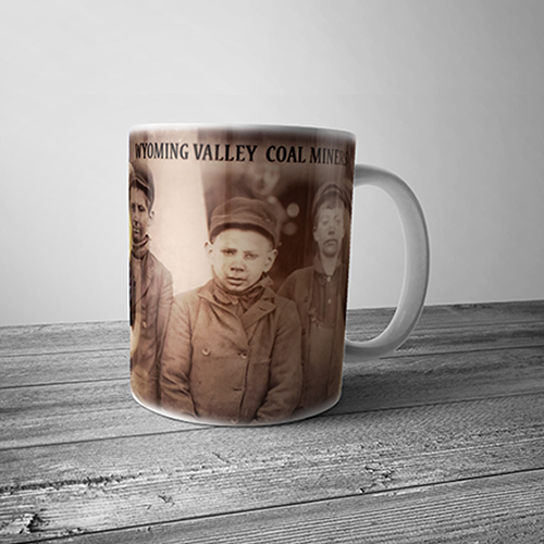 Wyoming Valley Coal Miners Mug